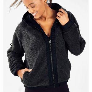 Fabletics Reversible Fleece Sherpa Jacket
